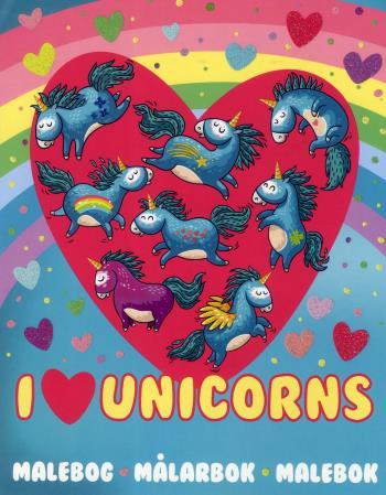 Unicorns Målarbok