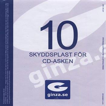 Skyddsplast för CD-Ask 137x150mm 10-pack