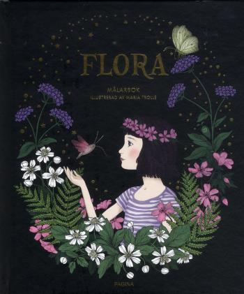 Flora - Målarbok