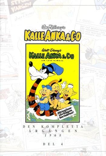 Kalle Anka & C-o. Den Kompletta Årgången 1968. D. 4