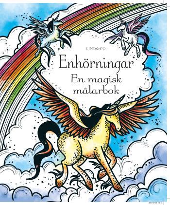 Enhörningar - En Magisk Målarbok