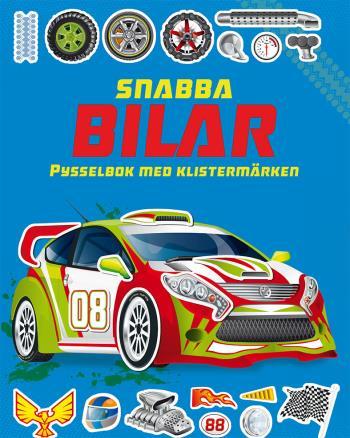 Snabba Bilar- Pysselbok Med Klistermärken