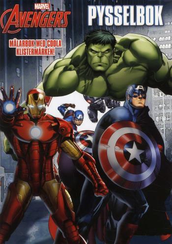 Marvel Avengers Die-cut Pysselbok