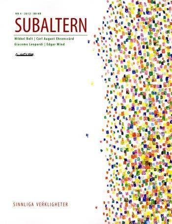 Subaltern 4(2012)