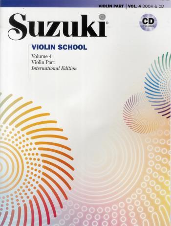 Suzuki Violin  4 Bok-cd Kombo