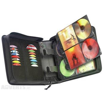 CD-Väska Case Logic CDW-224 för 224st CD-skivor