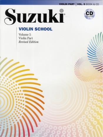 Suzuki Violin  5 Bok-cd Kombo