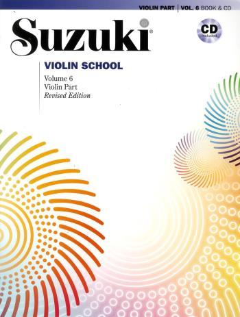 Suzuki Violin  6 Bok-cd Kombo