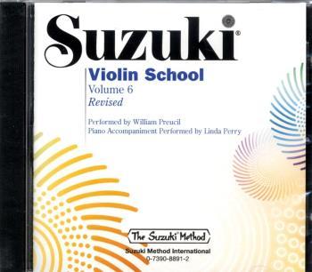 Suzuki Violin School Cd 6 Reviderad