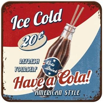 Coaster med Coca Cola motiv
