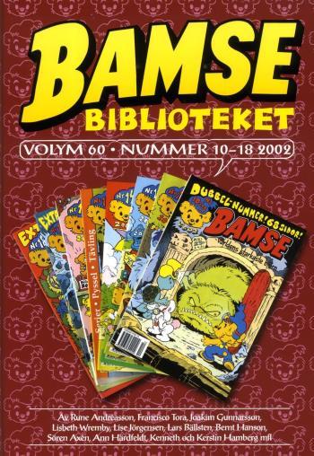 Bamse Biblioteket. Vol 60, Nummer 10-18 2002