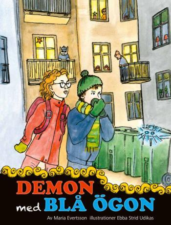 Demon Med Blå Ögon