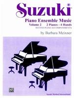 Suzuki Piano Ens 2 Duo