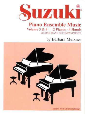 Suzuki Piano Ens Vol 3-4 Piano Duo