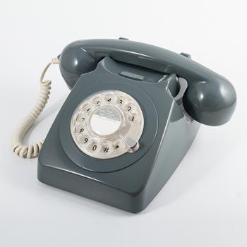 Telefon / Bordstelefon GPO 746 Grå