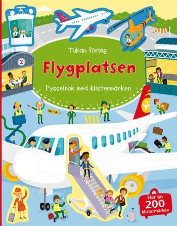 Flygplatsen - Pysselbok Med Klistermärken