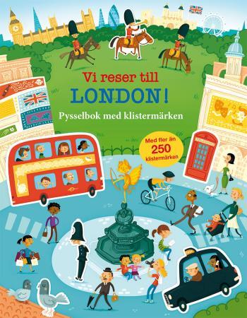Vi Reser Till London! Pysselbok Med Klistermärken