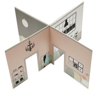 The Tiny Dollhouse - För Dockor Som Kräver Lite Mer Av Sitt Boende
