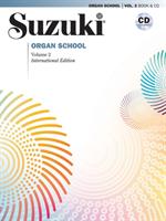 Suzuki Organ School Vol 2, Bok/cd
