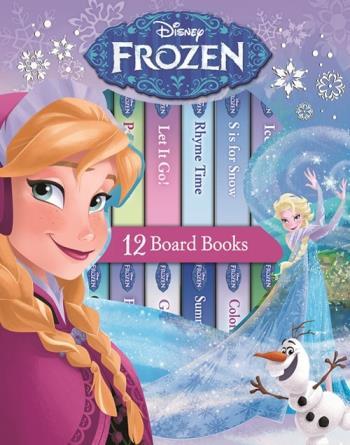 Disney Frost - Mitt Första Bibliotek 12 Sagoböcker Om Anna, Elsa Och Alla