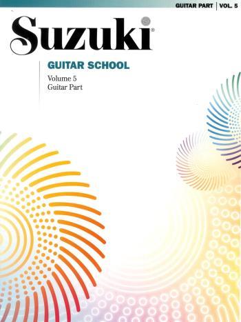 Suzuki Guitar School Vol 5