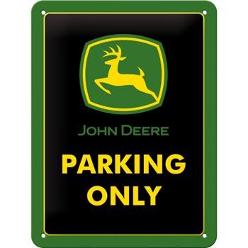 Plåtskylt Retro 15x20 cm / John Deere Parking