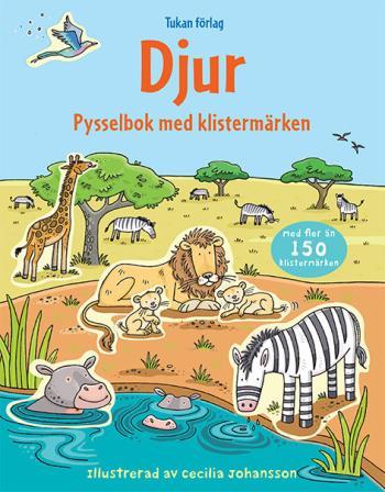 Djur - Pysselbok Med Klistermärken