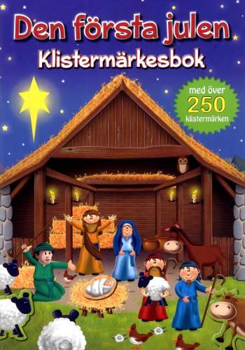 Den Första Julen - Klistermärkesbok
