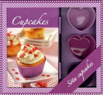 Cupcakes Box - Bok & 6 Cupcakeformar