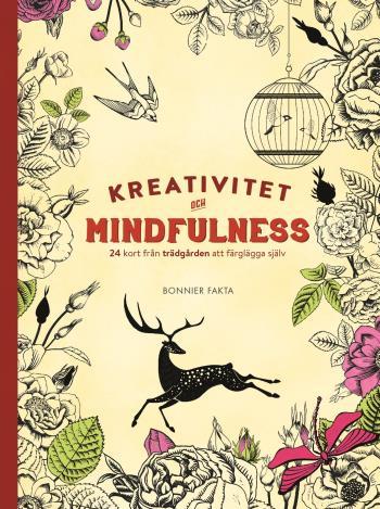Kreativitet Och Mindfulness - 24 Kort Från Trädgården Att Färglägga Och Skicka