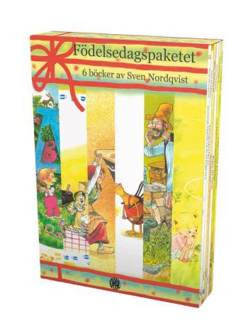 Födelsedagspaketet - 6 Böcker Av Sven Nordqvist