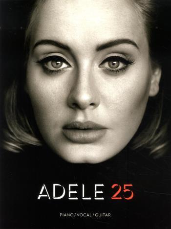 Adele 25  Piano/vocal/guitar