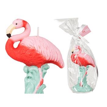 Stearinljus / Flamingo