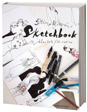 Stina Wirséns Sketchbook - Målarbok För Vuxna