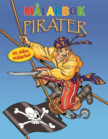 Målarbok Pirater