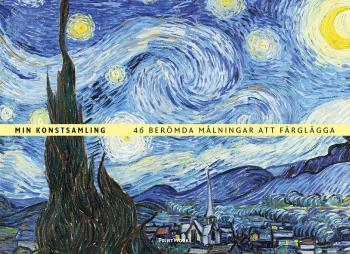 Min Konstsamling - 46 Berömda Målningar Att Färglägga