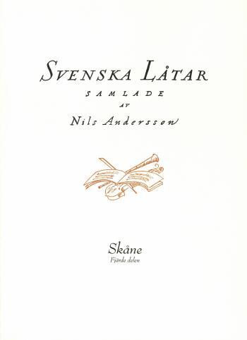 Svenska Låtar Skåne, Fjärde Delen