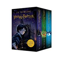 Harry Potter 1-3 Box Set- A Magical Adventure Begins