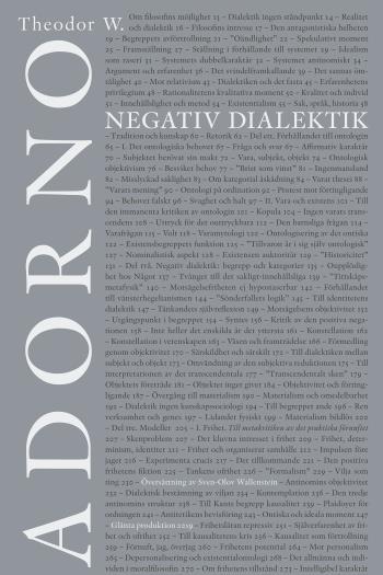 Negativ Dialektik