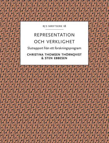 Representation Och Verklighet - Historiska Och Nutida Perspektiv På Den Aristoteliska Traditionen