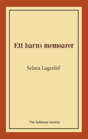 Ett Barns Memoarer