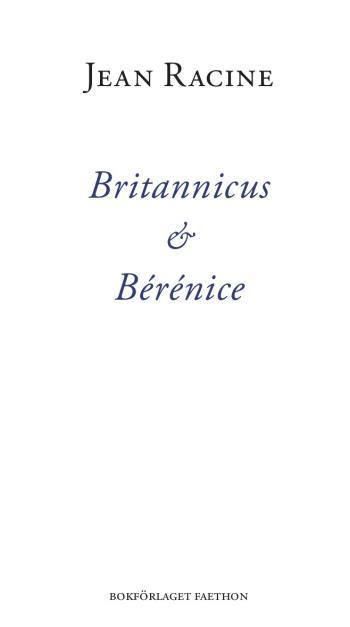 Britannicus & Bérénice