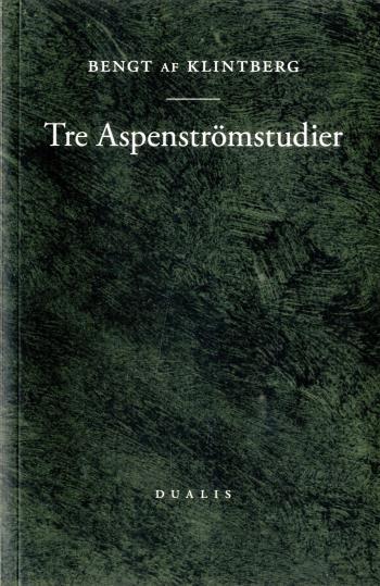 Tre Aspenströmstudier