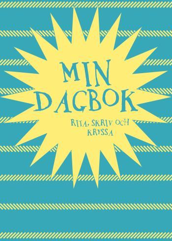 Min Dagbok - Rita, Skriv Och Kryssa (blå)