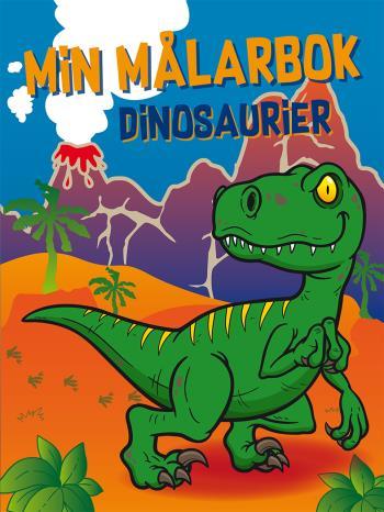 Min Målarbok - Dinosaurier