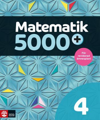 Matematik 5000+ Kurs 4 Lärobok Upplaga 2021