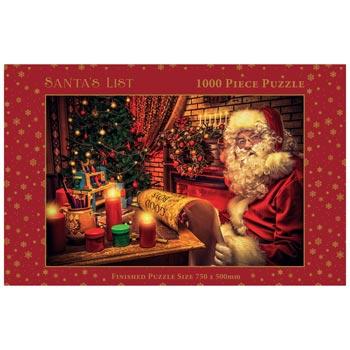 Puzzle / Santa's list 1000 pieces