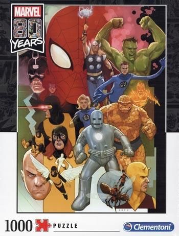 1000 pcs. Puzzles Marvel 80 years