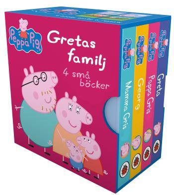 Greta Gris- Gretas Familj 4 Små Böcker