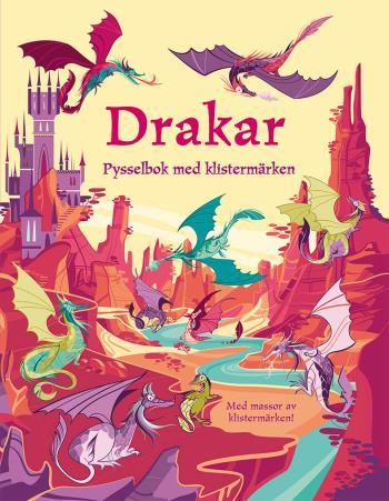 Drakar - Pysselbok Med Klistermärken